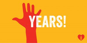 We're Five Years Young!