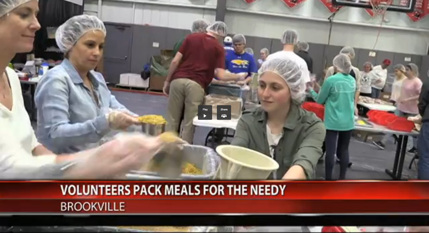 Long Island Lutheran High School Blows Past 2 Million Meals Packed!