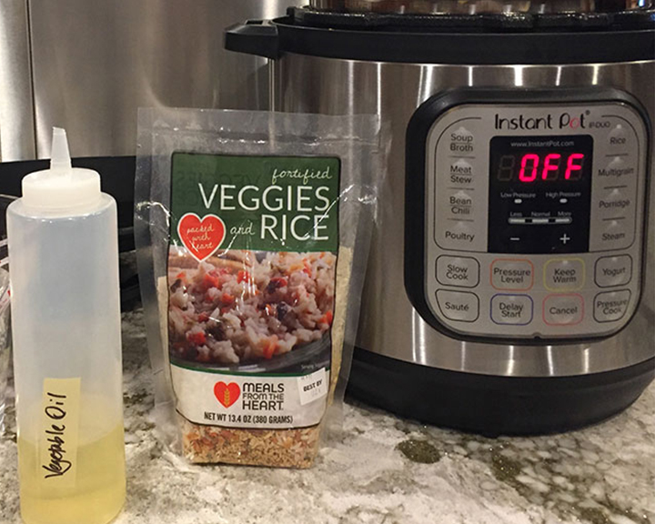Instant Pot Veggies & Rice