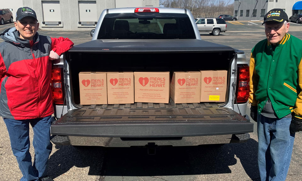 5,000 Meals Delivered To Help Our Neighbors In St. Paul's Midway Area!
