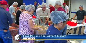 SPAAR Teams Up With The East Side Congregations  To Raise Awareness About Food Insecurity.