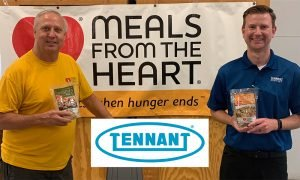 Thanks To Tennant Company For Stepping Up To Fight Hunger In The Twin Cities.